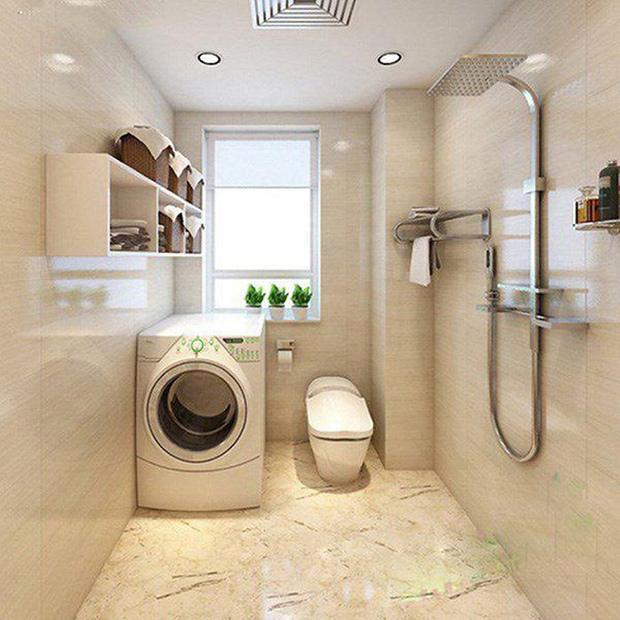 Đặt máy giặt nơi ẩm ướt, kê máy giặt không phù hợp